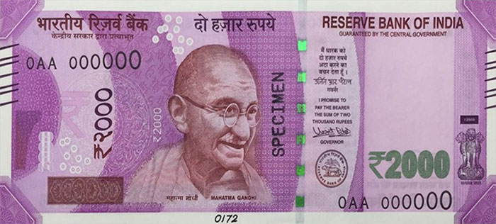 New Indian Currency 2000