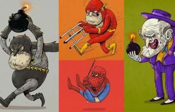 Aged Superheroes