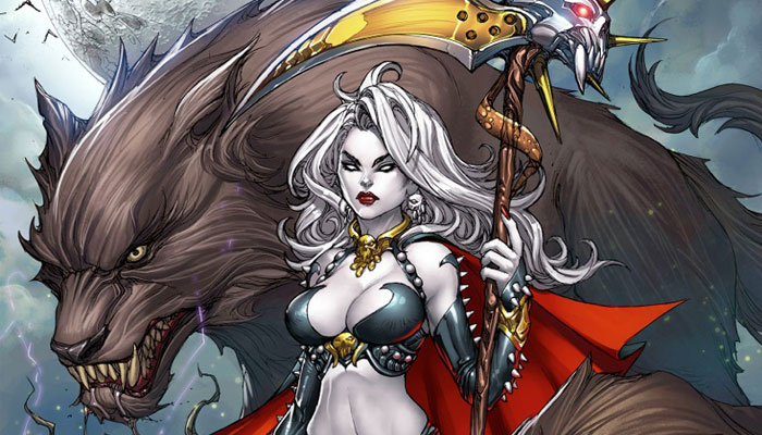 Lady Death Oblivion Kiss