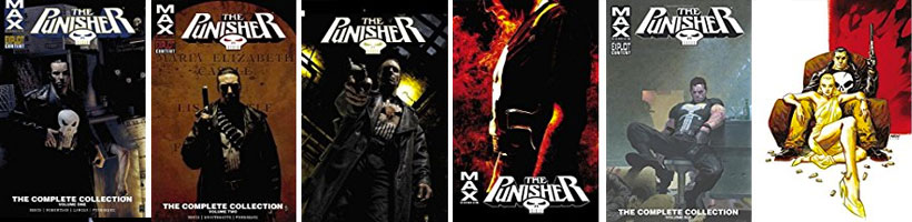 PunisherMAX Complete Collection