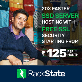 Rackstate Solid State Drive Hosting