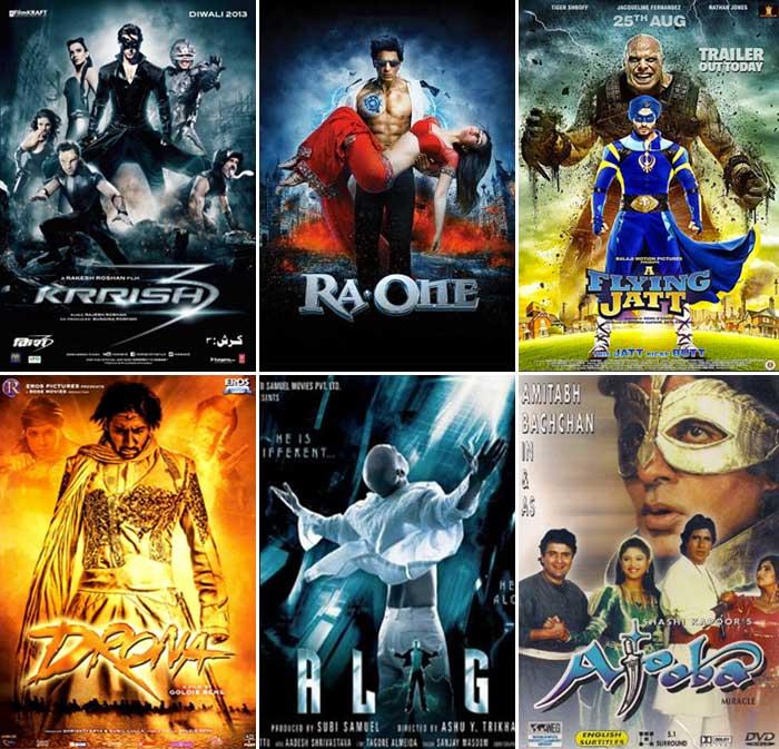 Bollywood Superhero Movies