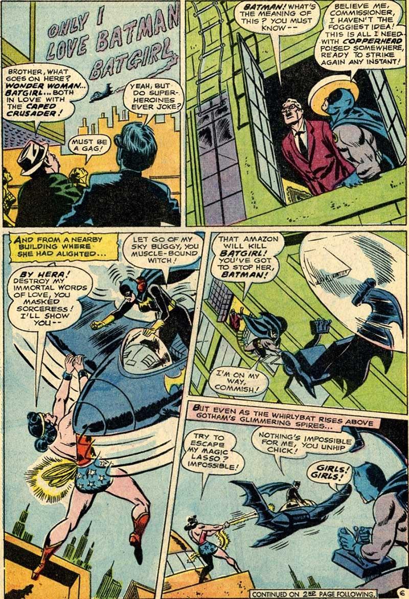 Batgirl Loves Batman