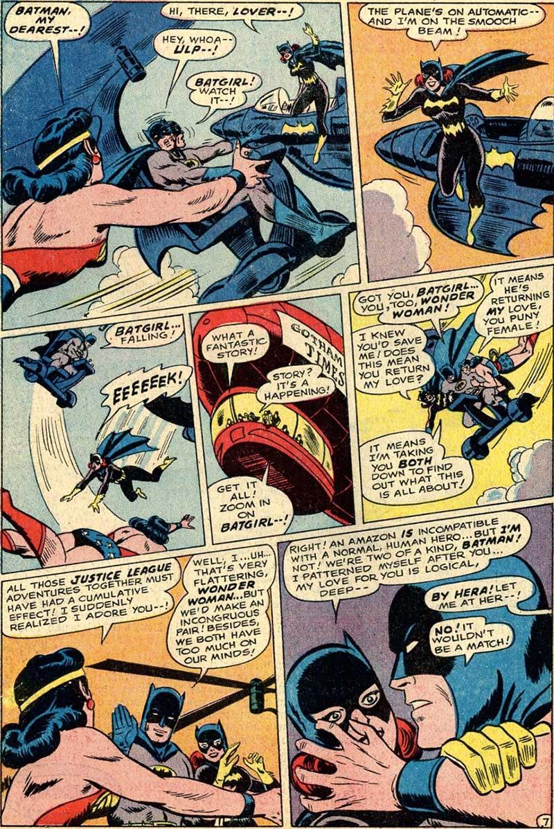 Batman Love Triangle